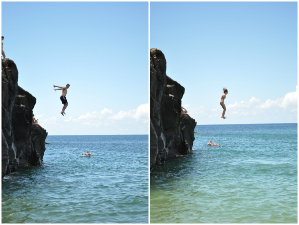 Waimea Bay Rock Jumping 2